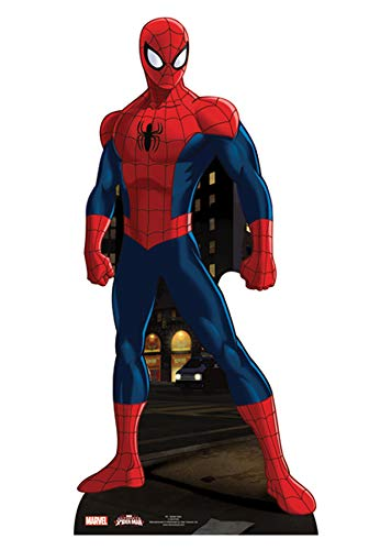 STAR taglio SC740 cartone Ultimate Spiderman Cut Out Star Cutouts