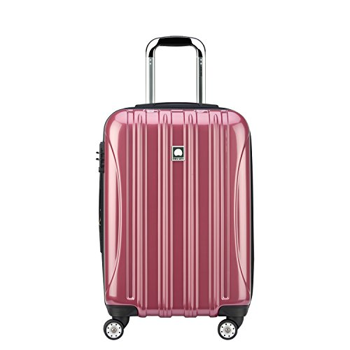 Delsey Luggage Helium Aero Carry-on Spinner Trolley, Peony