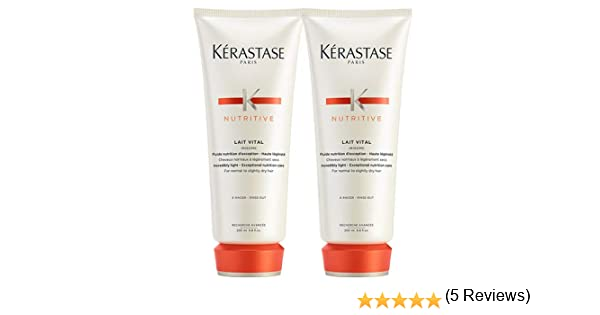 Kerastase Nutritive Duo Pack: Lait Vital Conditioner For Normal to ...