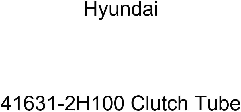Genuine Hyundai 41631-2H100 Clutch Tube
