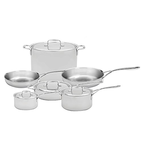 Demeyere 5-Plus Stainless Steel 10-piece Cookware Set ()