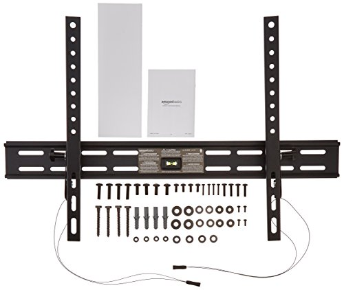 AmazonBasics Heavy-Duty Tilting TV Wall Mount for 37-inch to 80-inch TVs