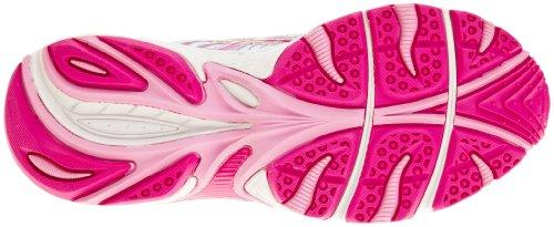 Asics Gel Galaxy 4 Gs Synthetic, Zapatillas de Atletismo Adultos Unisex Plateado - Silver/Charcoal/Pink