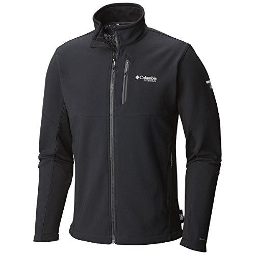 Columbia Titan Ridge II Hybrid Softshell Jacket - Men's Black, XXL ()