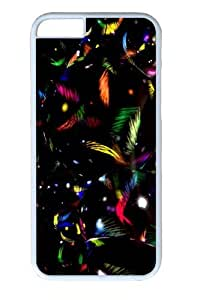 Colorful Orb Custom iphone 6 plus 5.5 inch Case Cover Polycarbonate White