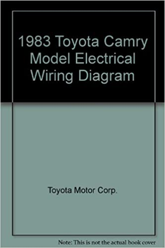 1983 toyota camry model electrical wiring diagram: toyota motor corp :  amazon com: books