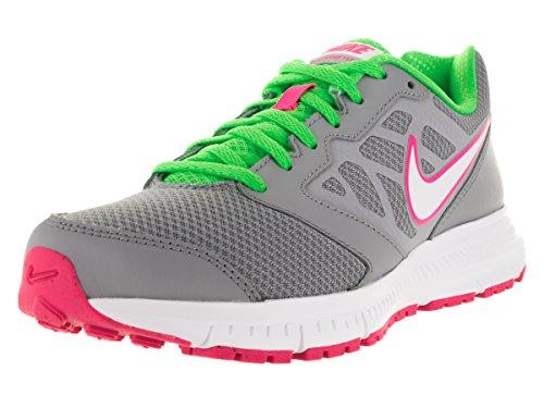 Nike Wmns Downshifter 6 - Zapatillas de running Mujer Gris (Wolf Grey / White-Vltg Grn-White)