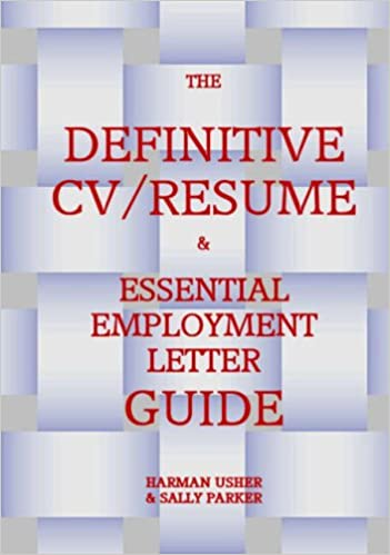 THE DEFINITIVE CV RESUME ESSENTIAL EMPLOYMENT LETTER GUIDE Paperback June 1 2007