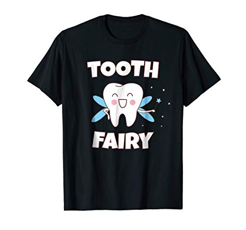 Tooth Fairy Halloween Costume T Shirt for kids Women Men ()