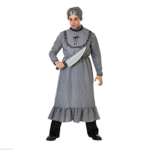 Psycho Mother's Dress Adult Costume - -