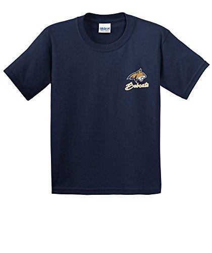 NCAA Montana State Bobcats Youth Cheer Loud Short Sleeve Cotton T-Shirt, ()