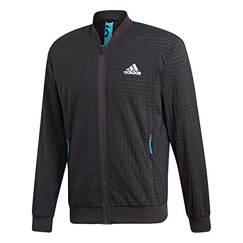 adidas Men's Escouade Tennis Jacket (L, ()