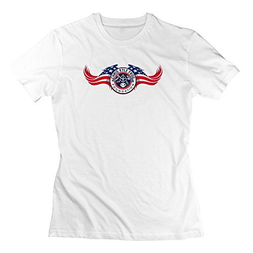 Women's Crew Neck Chris Kyle Frog Foundation American Sniper T-shirts XL - Th American Sniper