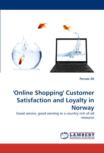 'Online Shopping' Customer Satisfaction and Loyalty in Norway: Good service, good earning in a country rich of oil - Online Norway Shopping