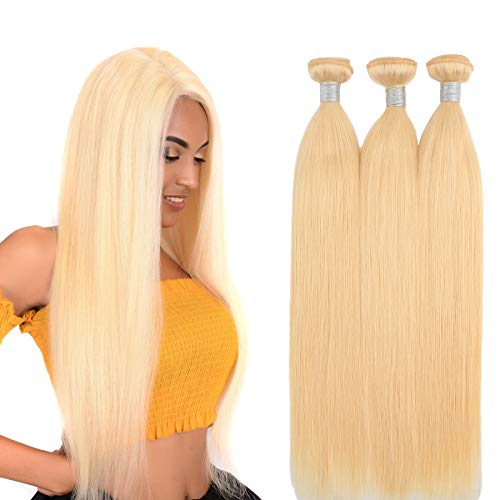 613-Blonde-Human-Hair-Bundles-24-Inch-8A-Brazilian-straight-hair-3-bundles-Honey-Blonde-Unprocessed-Human-Hair-Extensions-Human-Hair-Bundles-Double-Weft-Brazilian-Hair-Bundles