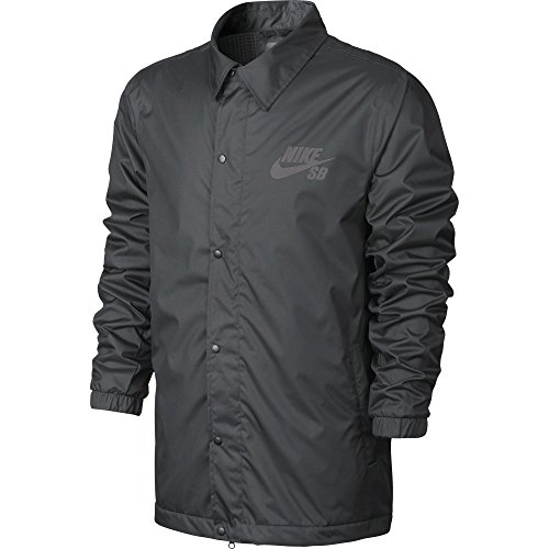 ant Coaches Jacket (Medium, Dark Grey/Anthracite) (Nike Classic Training Jacket)