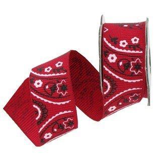 red bandana ribbon - 9