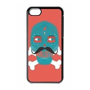 ANCASE Skull Art 6 Phone Case For Iphone 5C [Pattern-3]