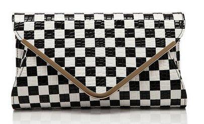 Personalizados De Claro Grab Sobres Bag Verde Corte Nuevos and Mano Transversal La black Son Meoaeo white Classic wqIEFCg0