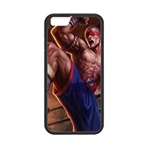 iPhone 6 4.7 Inch Cell Phone Case Black League of Legends Muay Thai Lee Sin VB6977077