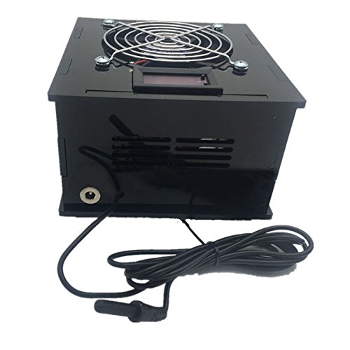 SODIAL(R) Aquarium Thermostat Chiller 70W Fish Tank Salt/Fresh Water with temperature controller
