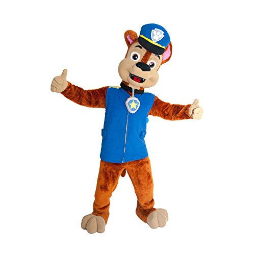 PAW PATROL CHASE DOG MASCOT COSTUME ADULT SIZE HIGH (Baby Huey Halloween Costume)