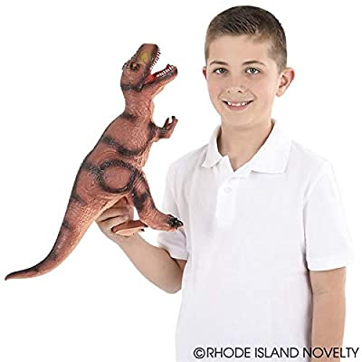 Rhode Island Novelty 22 Inch Soft T-Rex Dinosaur, One per Order: Toys & Games