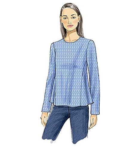 Vogue V9054 costura para confeccionar blusas, trajes, vestidos, moda, VGE 9054 B5 (8-16) Deu. Gr. 34-42: Amazon.es: Hogar