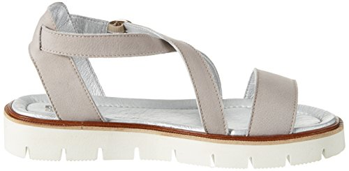 Sandale SHOOT Sandals 10 Gray Toe 40 Open EU Perla Akoya Women's dW1fg1