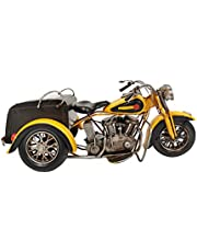 Carina's Collection Three-Wheeled Highway Patrol Motorcycle (White, Black)