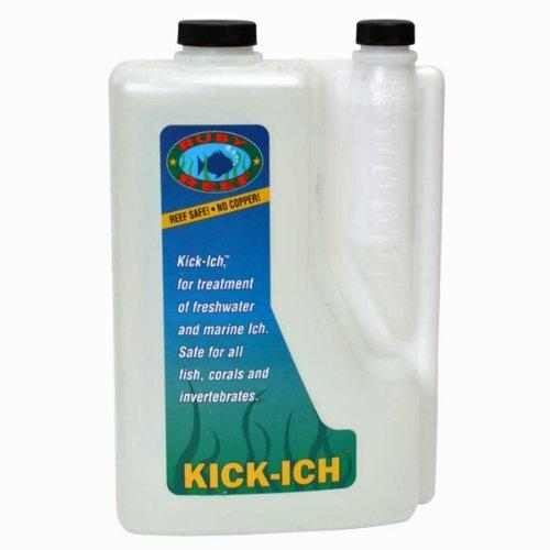Ruby Reef ARR11122 Kick-Ich Aquarium Water Treatment, 2-L...