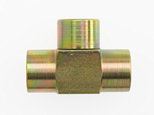 - Brennan Industries 5605-12-12-12-FG Forged Steel Tee Tube Fitting, 3/4