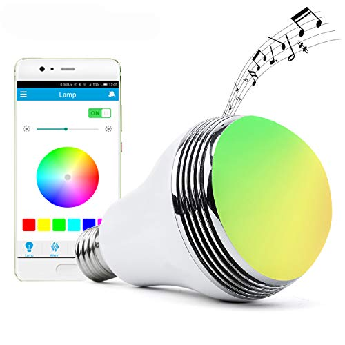Led Light Bulb Bluetooth Speaker in US - 8