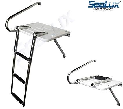 Amazon.com: SeaLux - Plataforma de natación de fibra de ...