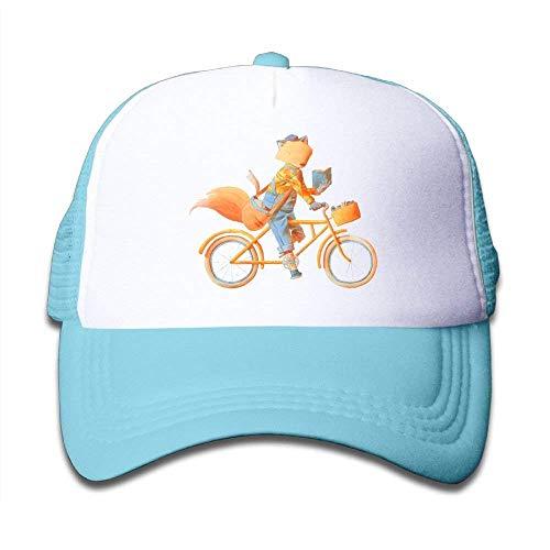 Jane Commons Fox Ride Bike Adult Girl Mesh Hat Sun Snapback Baseball Caps  Adjustable Trucker Caps 8f54019da544