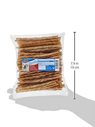 Rollitos prensados de piel natural 100 piezas Trixie .
