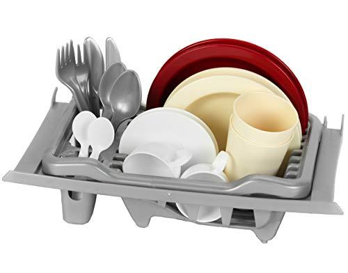 Theo Klein-9008 Canasta Para Cubiertos Para Cocinas, Juguete, Multicolor (9008)