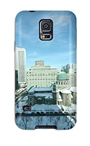 Eric J Green Case Cover For Galaxy S5 - Retailer Packaging Montreal En Hiver Protective Case