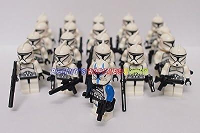 Minifigures 20 x Clone Trooper (Get Captain Rex Free)