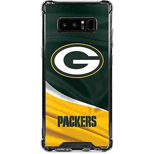 Green Bay Packers Note - Skinit Green Bay Packers Galaxy Note 8 Clear Case - NFL - Skinit Clear Case - Transparent Galaxy Note 8 Cover