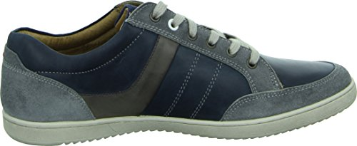 Australian Footwear Vancouver Herrenschuh Sneaker Echtleder Grau Blau