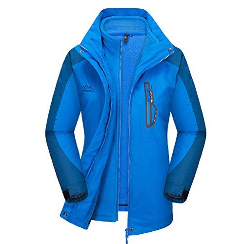 [Timeiya Women's Waterproof Jackets for Mountaineering Outdoor Activities Autumn&Winter] (Best Figure Skating Costumes)