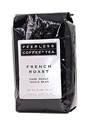 Peerless Whole Bean Coffee, French Roast, 2Lb