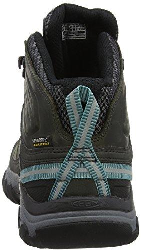 Mid Keen Blue Alcatraz 0 High Hiking Women's Turquoise Rise Targhee III Shoes Blue Waterproof wBprIBxqF