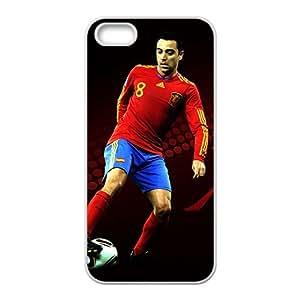 Soccer FC Barcelona Hernandez Fc BarAIA White Phone Case for Iphone 5s