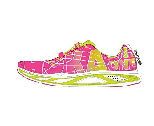 rosa Running Da Scarpe Hoka One gelb Donna Trail gqY4Z4I