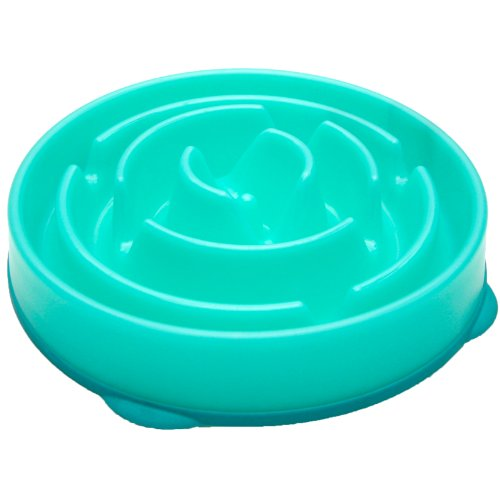 Outward-Hound-Fun-Feeder-Dog-Bowl-Slow-Feeder-Stop-Bloat-for-Dogs-Large-Blue