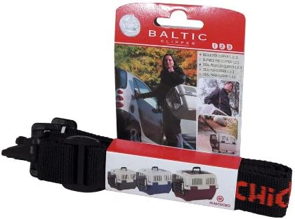 Marchioro Baltic Shoulder Strap for Pet Carriers, Black