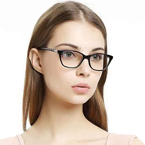 cdc16c0d82 OCCI CHIARI Women Casual Eyewear Frames Non-Prescription Clear Lenses  Eyeglasses