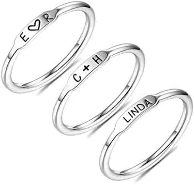 silverjewelgems BEST QUALITY BLACK ONYX FASHION JEWELRY .925 SILVER PLATED RING S12531